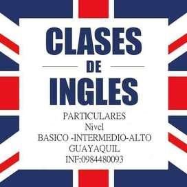 Clases de Ingles Particulares
