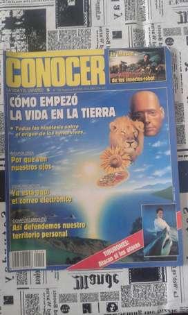 Revista Conocer, Como Empezó La Vida En La Tierra