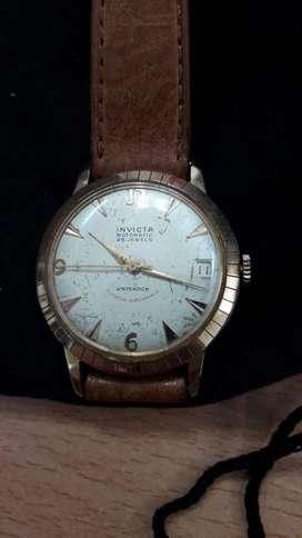 Reloj Invicta Rotomatic Dorado