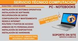 Servicio Técnico Pc - Notebook Roque Pérez