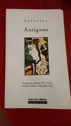 Antigona. Autor Sofocies