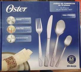 Juego de Cubiertos Oster 4 servicios