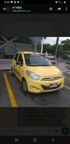 Se vende taxi hyundai i10 en excelente estado