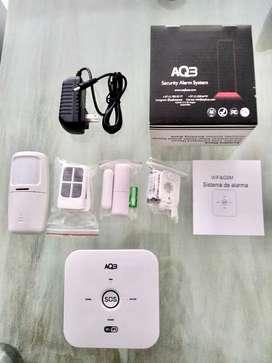Alarma con sirena. 4G y wifi. App tuya. Control remoto y seguridad en puerta