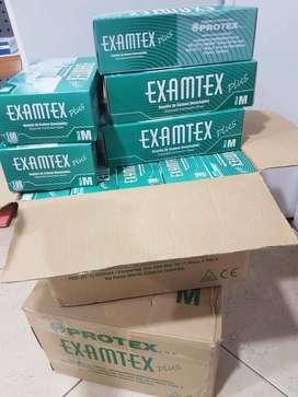 Guantes Latex Protex Examen Talla M 100 Uds