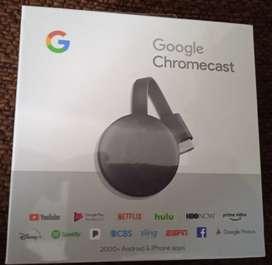 Chromecast original 3 generación nuevos caja sellada