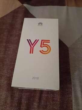 Huawei y5 para estrenar