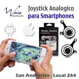 Joystick doble  2 Gatillos (analógicos) para Tablets y Smartphones