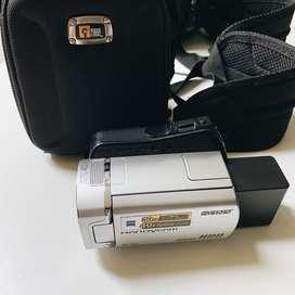 USA SONY DCR-SR45 HANDYCAM Pantalla Táctil Camara nocturna 40x Optical zoom Camara Filmadora
