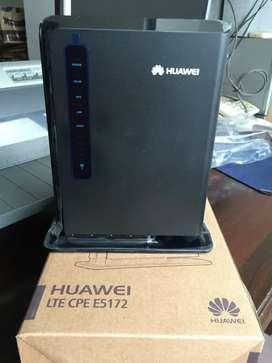 Vendo modem o router para sim card marca huawei