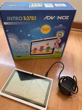 Tablet Advance niños para repuestos