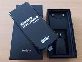 Samsung Galaxy Note 10 256Gb 8Gb Ram Aura Black Nuevo en Caja Oficina
