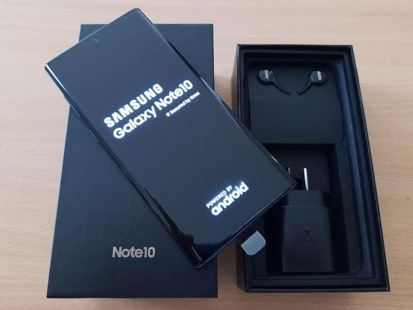 Samsung Galaxy Note 10 256Gb 8Gb Ram Aura Black Nuevo en Caja Oficina 0