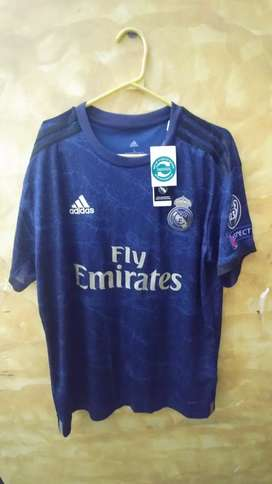 Real Madrid azul negro talla L 19-20