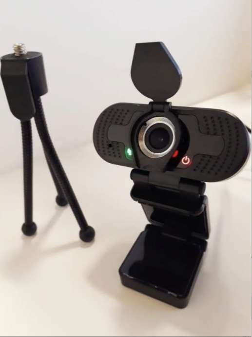Webcam con TRIPODE- Camara Web - Full Hd 1920p - 30fps - Microfono Inc 0