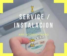 Service e Instalacion de Aire Acondicionado