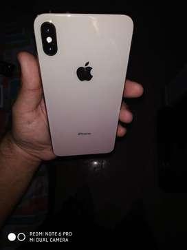 Iphone XS MAX 64 gb en percectas condiciones , unico dueño en su caja