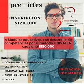 Es tu oportunidad de estudiar con UNIVALEN. Pre-Icfes 2021, Bachillerato CERTIFICADO