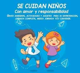 Se cuidan niños en ciudad Córdoba