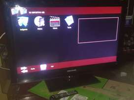 Vendo cambio  TV de 40 pulgadas led challenger NO SMAT TV