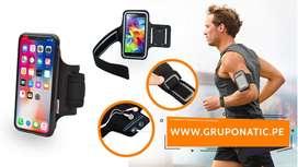 Funda Brazalete Running Deportivo Correr Iphone Samsung Huawei Gruponatic La Molina Whatsapp 941439370