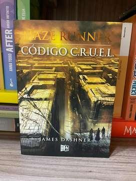 Maze Runner Código C. R. U. E. L. (Original)