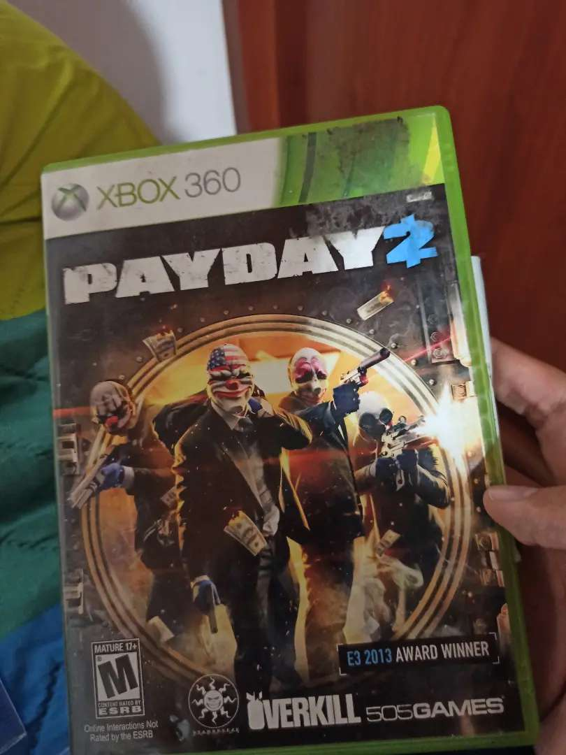 Pay Day 2 Original Xbox 360