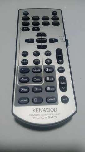 Control Remoto Kenwood Rc-dv340 Nuevo Para Autoradio Con Tv