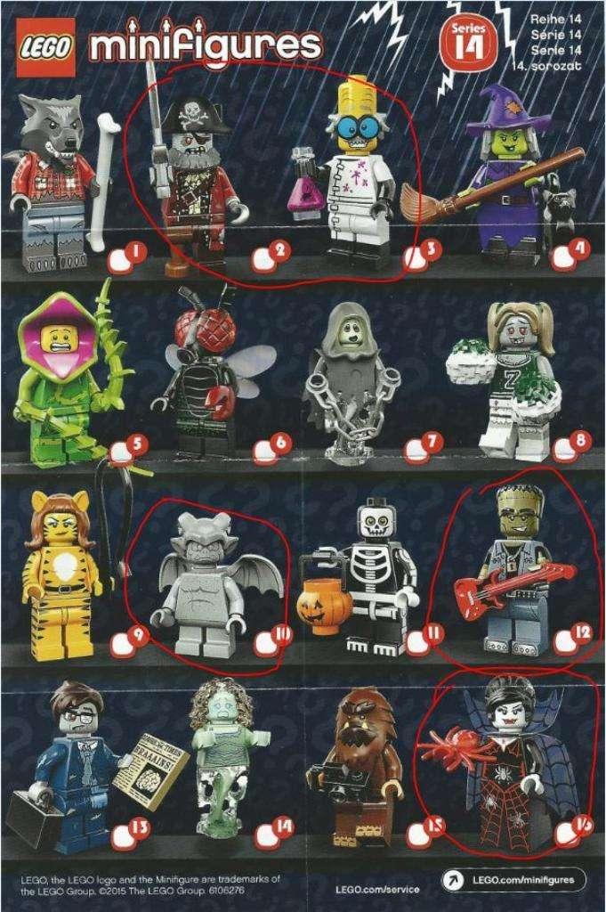 Minifiguras Lego Originales 0