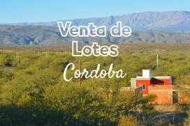 Lotes en Cordoba en venta 100% financiados
