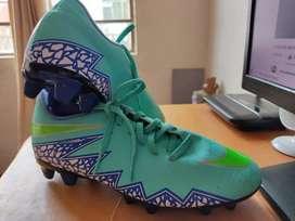 Lindos Guayos Nike Hypervenom,Tacos Azul Verde Turquesa
