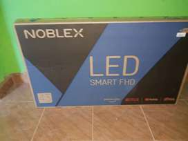 Se vende Smart TV Noblex full HD 43 pulgadas nuevo en caja cerrada a estrenar