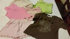 Shorts, Musculosas Y Remeritas para Beba