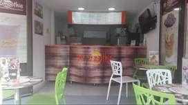 Venta franquicia mr smoothie en la villa Pereira
