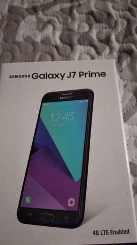 De oportunidad se vende Galaxy J7 Prime nuevo