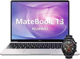 Huawei Matebook 13 i5 + 512gb + Watch GT Sport Black