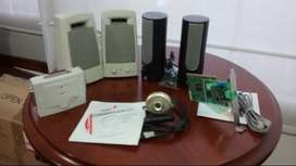 Camara de video-tarjeta FAX modem