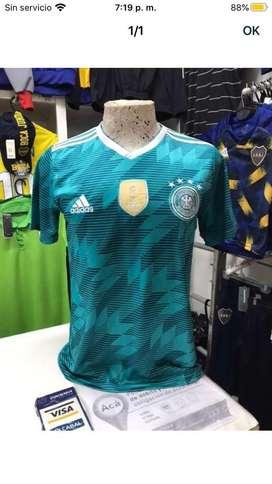 Camiseta alemania verde S