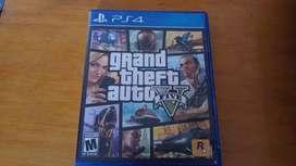 Grand Theft Auto 5 (GTA V) PS4 Como nuevo