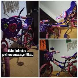 Bicicleta princesas