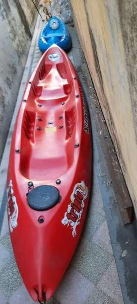 Vendo Kayaks k1 y triplo c/accesorios