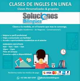 CLASES DE INGLES EN LINEA
