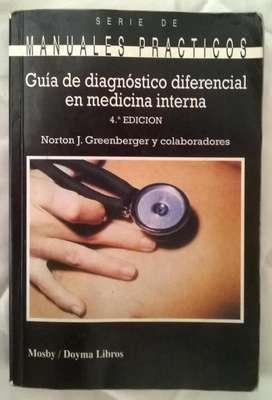 Manuales Prácticos Guía de Diag diferenc. en Medicina Interna. Norton.