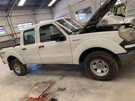 Ford ranger 2011 4x4 212.000 km. En el estado que se encuentra y se exhibe. Edicion Superduty, ejes traseros reforzados