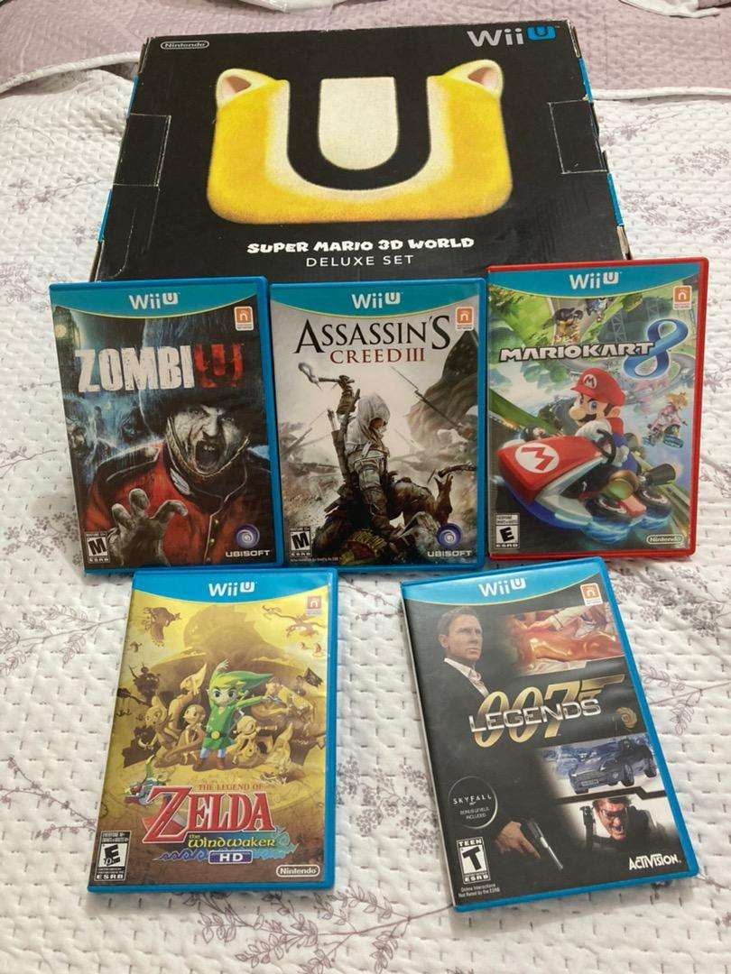 Nintendo Wii U + 5 peliculas