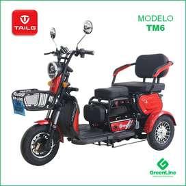 GreenLine Trimoto Eléctrica de Paseo TAILG TM6