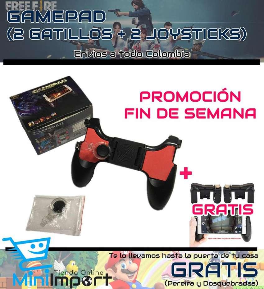 PROMOCIÓN GAMED PAD 5 EN 1 GRATIS UN PAR DE GATILLOS 0