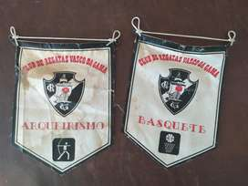 antiguos banderines de vasco da gama
