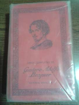 Gustavo Adolfo Bécquer (Rimas - Obras Completas)