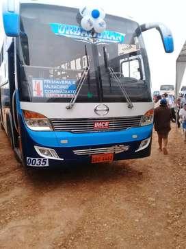vendo Bus Hino Ak. Año 2018 climátizado. de la compañía de buses urban duran